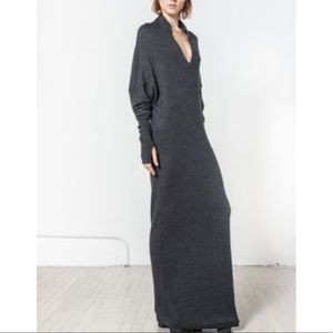 Nicholas K reversible sweater dress in Black.